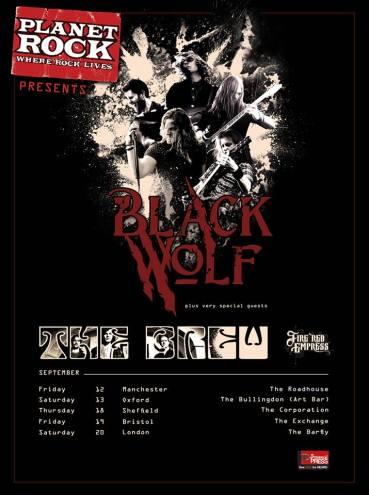 Planet Rock Blackwolf poster
