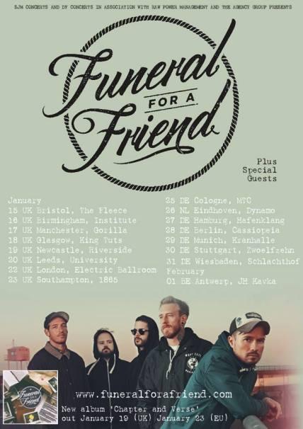 FFAF tour poster