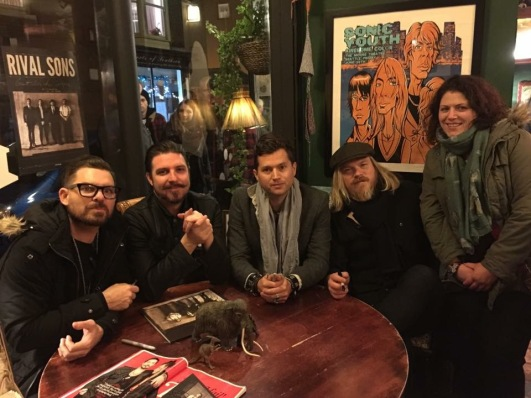 Vikkie and Rival Sons, Pie and Vinyl
