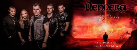 Dendera band & EP cover